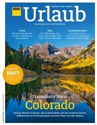ADAC Urlaub September-Ausgabe 2020 Nordrhein