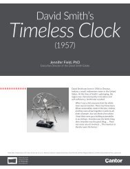 Learning Guide | David Smith's Timeless Clock
