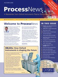 Process News - Oxford Instruments