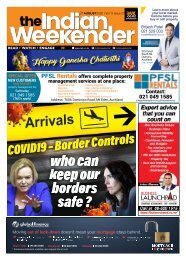 The Indian Weekender, Friday 21 August 2020