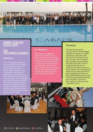 Worldspan New Case Studies - CA Marbella.indd - Worldspan Group