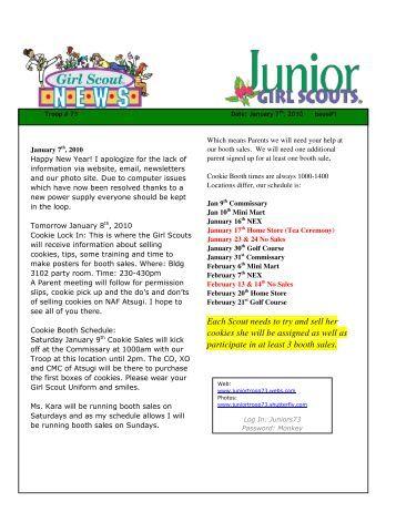 junior girl scouts earn your rocks rock badge at the santa