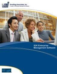 S2K Enterprise Management Software Vormittag Associates, Inc. - VAI