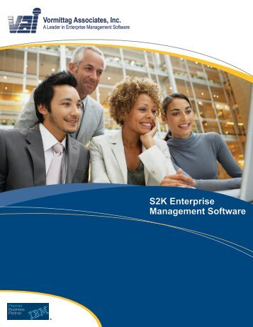 S2K Enterprise Management Software Vormittag Associates, Inc. - VAI