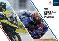 Suzuki Motorcycle Apparel Katalog 2020