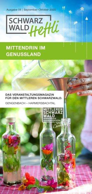 Schwarzwald-Heftli Ausgabe5 Sept-Okt 2020