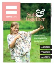 A magazine for Espoo residents 3-2020