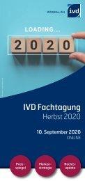 IVD Fachtagung Herbst 2020