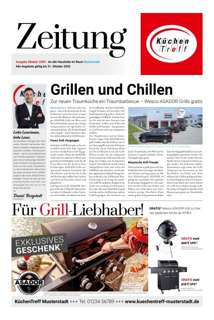 KüchenTreff Zeitung Oktober 2020