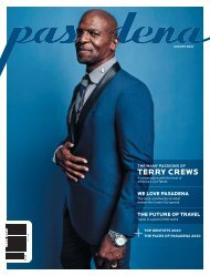Pasadena Magazine - August 2020