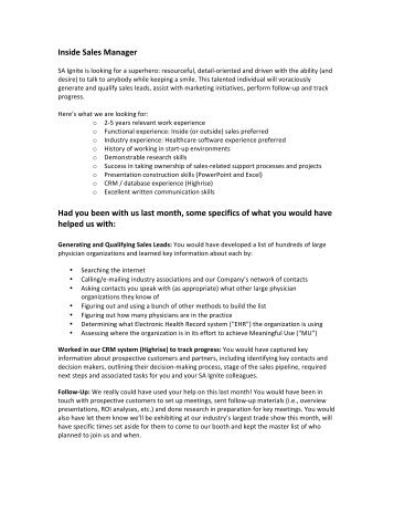 job description inside sales manager sa ignite?quality=85 job description for manager wire harness rossell techsys wire harness job description at soozxer.org