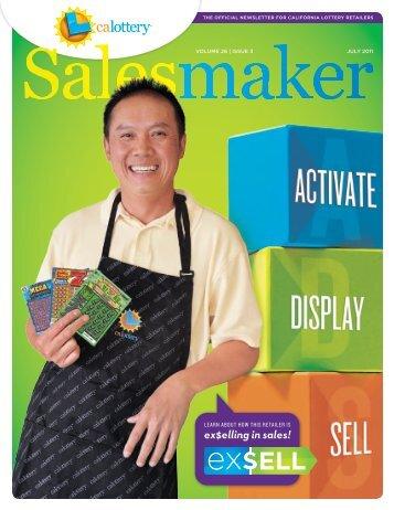 July 2011 Salsmaker - California Lottery