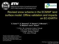 Revised snow scheme in the ECMWF land surface model: Offline ...