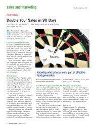 sales and marketing - Author Speaker Consultant
