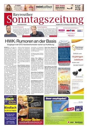 2020-08-23 Bayreuther Sonntagszeitung