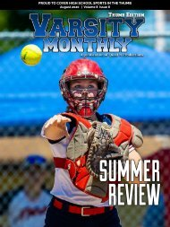 August 2020 Issue of Varsity Monthly Thumb Magazine