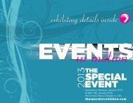 2013 Prospectus - The Special Event 2013