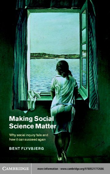 Making Social Science Matter: Why social inquiry fails ... - Monoskop