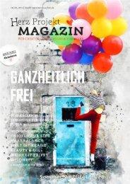 Herz ♥ Projekt Magazin #6. Ausgabe Ganzheitlich FREi 23.08.2020