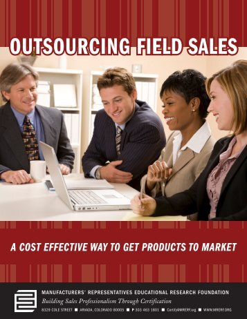 The Benefits of Outsourcing Field Sales - mrerf