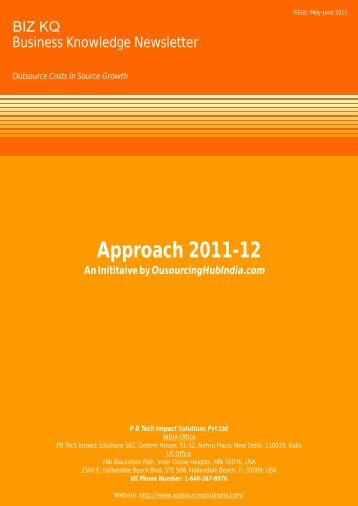 Approach 2011-12 - Outsourcing Accounting | Outsourced Accounting