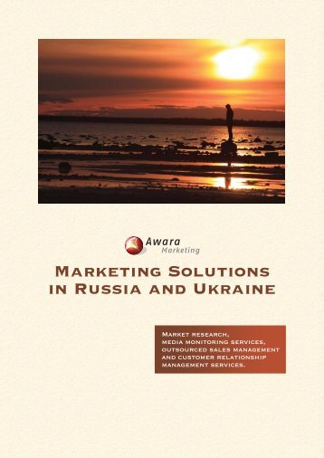 Marketing Solutions in Russia and Ukraine - Awara Marketing