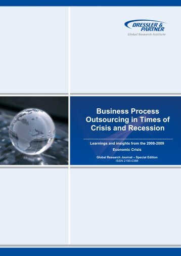 Business Process Outsourcing in Times of Crisis and - Dressler ...