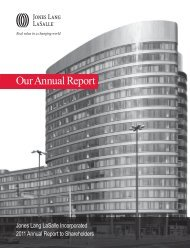 2011 Annual Report - Jones Lang LaSalle