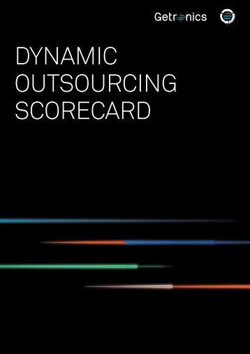 dynamic outsourcing scorecard - Getronics