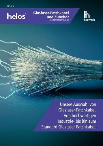 Herweck Produktsortiment: Glasfaser-Patchkabel und Zubehör