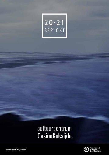 c.c. CasinoKoksijde brochure sep-okt 2020