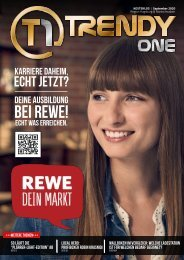 TRENDYone | Das Magazin – Augsburg – September 2020