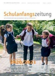 Schulanfangszeitung 2020/2021