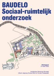 Baudelo Sociaal-ruimtelijk onderzoek - Eindrapport