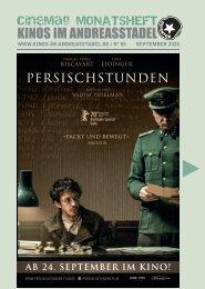 Cinemag | Kinoprogramm in Regensburg | 09-2020