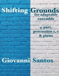 Shifting Grounds - Full Score