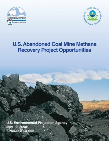U.S. Abandoned Coal Mine Methane Recovery Project Opportunities