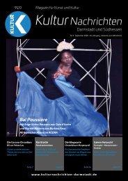 Kulturnachrichten für Darmstadt und Südhessen - 09-2020