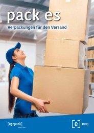 pack es - Verpackungen für den Versand
