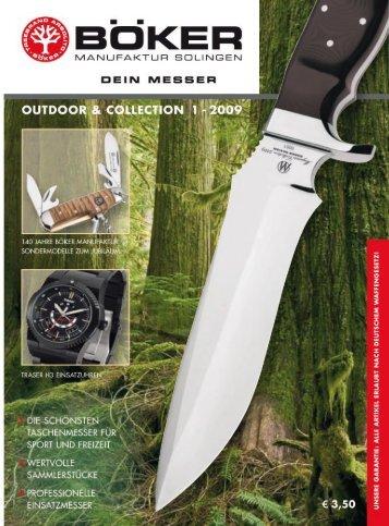 Böker Outdoor und Collection   2009   Edition 1