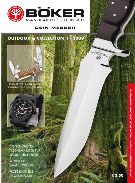 Böker Outdoor und Collection | 2009 | Edition 1