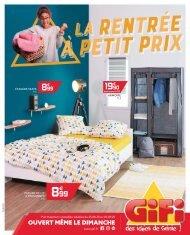 Gifi catalogue 25 aout-2 septembre 2020