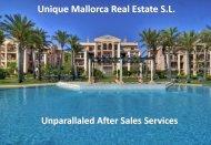 After Sales Services Brochure - Unique Mallorca Real Estate