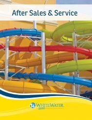 After Sales & Service Brochure - White Water West