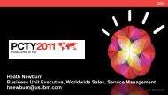 Heath Newburn Business Unit Executive, Worldwide Sales, Service ...