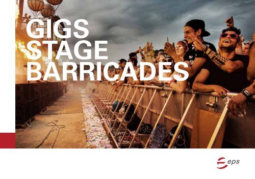 eps Brochure GIGS Stage Barricades