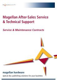 Magellan After-Sales Service & Technical Support