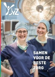 Jan Yperman Ziekenhuis - jaarverslag 2018