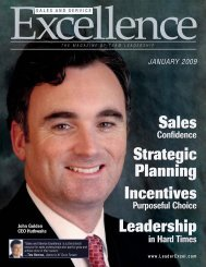 Sales and Service Excellence Magazine - Kaon Interactive