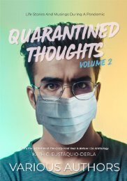 Quarantined Thoughts Volume 2